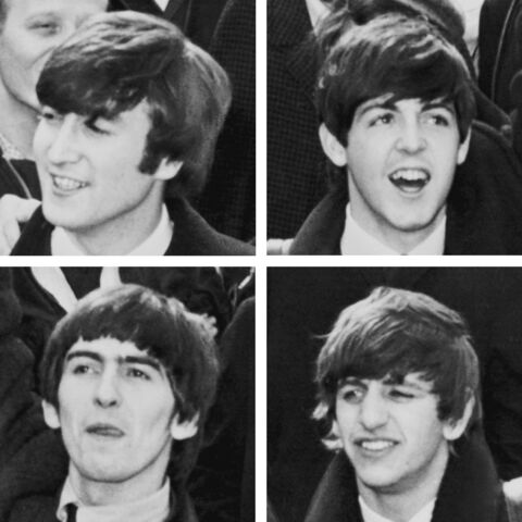 File:Collage of the Beatles.jpg