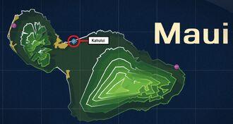 Kahului Map