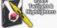 10x019 - Twilight Book and Highlighters