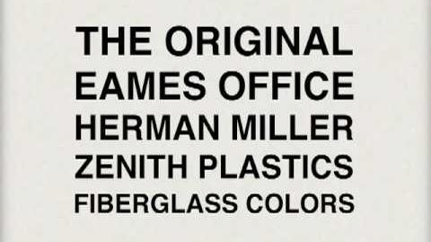1950's Eames Fiberglass Chairs, The Color Slideshow.