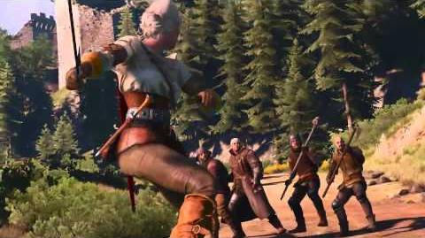 The Witcher 3 Wild Hunt - Rage and Steel Trailer