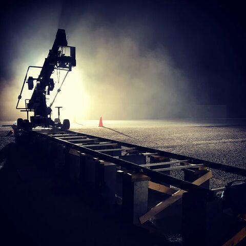 File:BTS Lawrence Karman on set.jpg