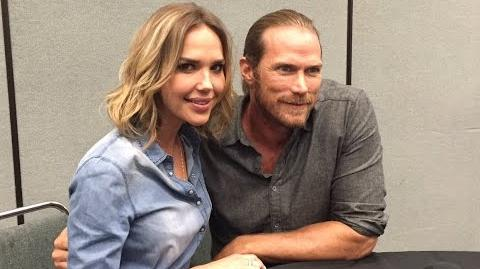 Midnight, Texas - Arielle Kebbel, Jason Lewis Interview (WonderCon)