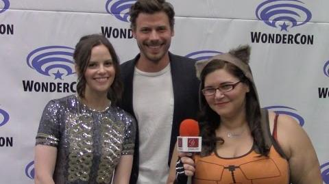 Midnight Texas - Sarah Ramos & François Arnaud - WonderCon 2017 yael.tv