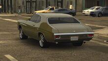 MCLA Chevrolet Chevelle Traffic Car Rear