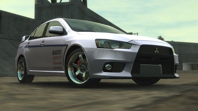 File:Mitsubishi Lancer Evolution X TWC (Front Low Angle).jpg