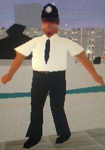 Male officer in uniform