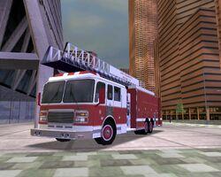 Silver Eagle Fire Truck