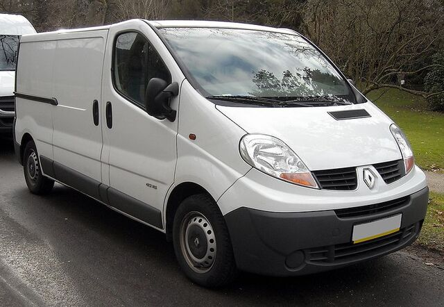 File:800px-Renault Trafic II front 20080120.jpg