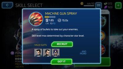 Machine Gun Spray