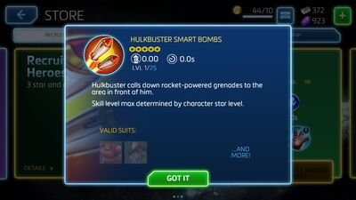 Hulkbuster Smart Bombs