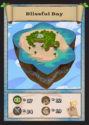 Blissfull bay card