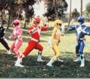 Mighty morphin power rangers the official Wiki