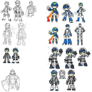 Character design concept art.