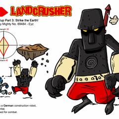 Landcrusher (before)