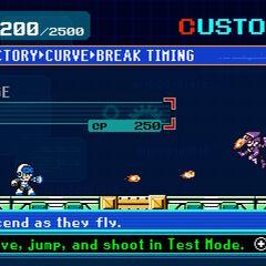 Customization screen