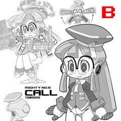 Call Design B by Makoto Yabe