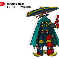 Mighty No. 8's current design