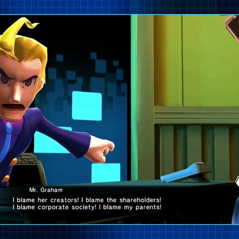 Mr. Graham and Dr. White's appearance in game.
