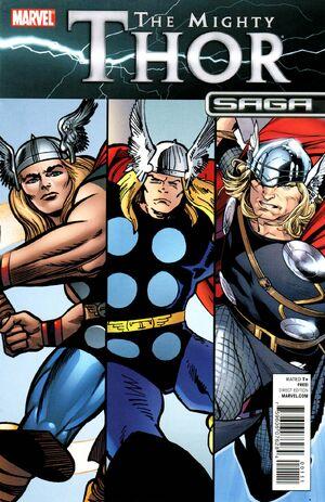 Mighty Thor Saga Vol 1 1