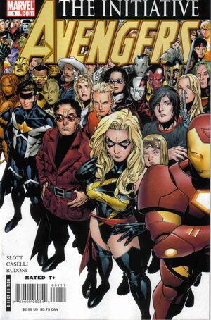 Avengers The Initiative Vol 1 1