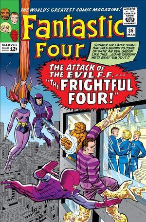 Fantastic Four Vol 1 36