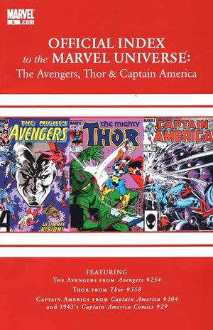 Official Index to the Marvel Universe Vol 2 8