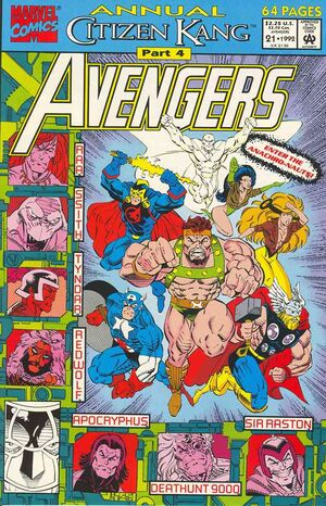 Avengers Annual Vol 1 21