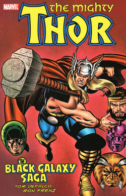 Thor The Black Galaxy Saga TPB Vol 1 1