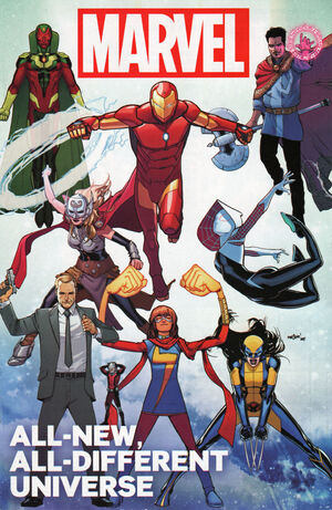 All-New All-Different Marvel Universe Vol 1 1