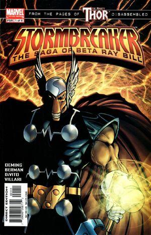 STORMBREAKER: THE SAGA OF BETA RAY BILL (Marvel 2005) (Lot C53)