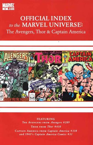 Official Index to the Marvel Universe Vol 2 9