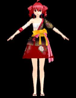 Teto kimono by Uri