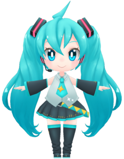 Miku by Maza Animation Planet, Inc.
