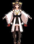 Kongou weaponless by Tsumidango
