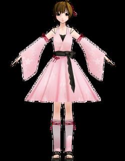 Meiko wintry wind costume by Uri