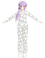 Yukari denpa-kun pijama by Hatuki.png