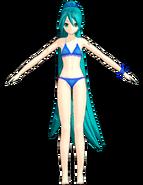 Miku swimwear b by Redstone