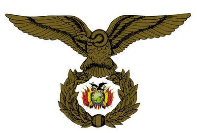 Escudo de armas o emblema de la FAB