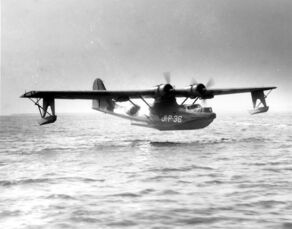 PBY Catalina landing