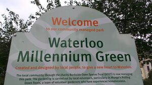 Waterloo Sign