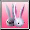 Bunny Hairpin