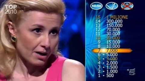 Millionaire (Italy)- 12 31 2010