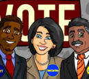 10/23/2008 - Mayoral Campaign In Full Gear