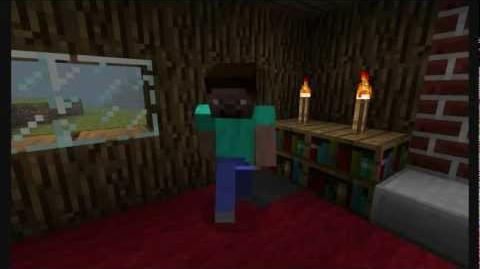 """""""It's Herobrine"""" - Song and video as a tribute to Herobrine."""