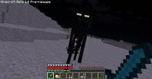 Old enderman attacking