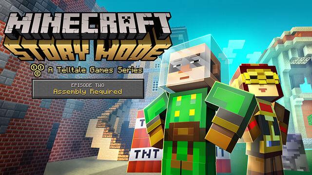 File:MinecraftStoryMode EPISODE TWO.jpg