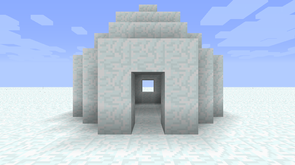 File:Igloo in Minecraft.png