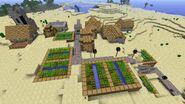 Minecraft Desert Village