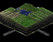 Far lands vs normal minecraft world